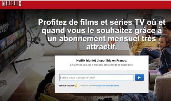 Netflix - pub France