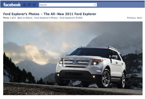 Ford - Explorer reveal