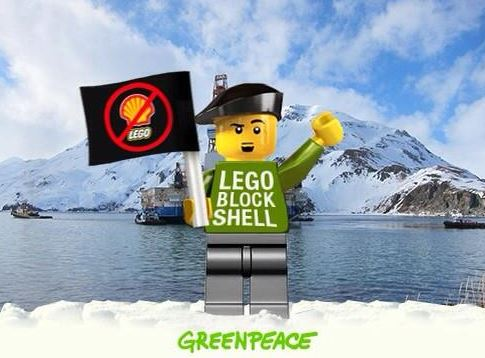 Lego - figurine Greenpeace