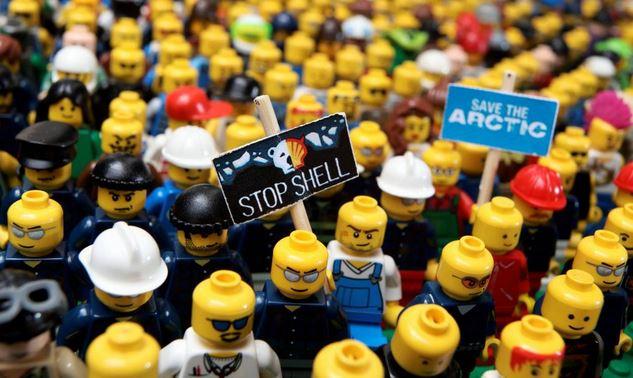 Lego - manif figurines