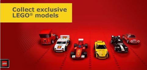 Lego - partenariat Ferrari Shell
