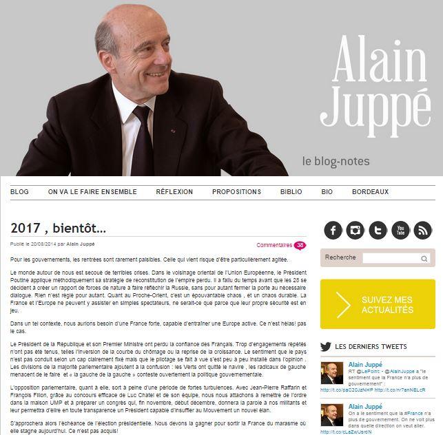 NSAJ - Blog Alain Juppé