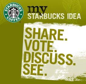 Starbucks - logo my idea