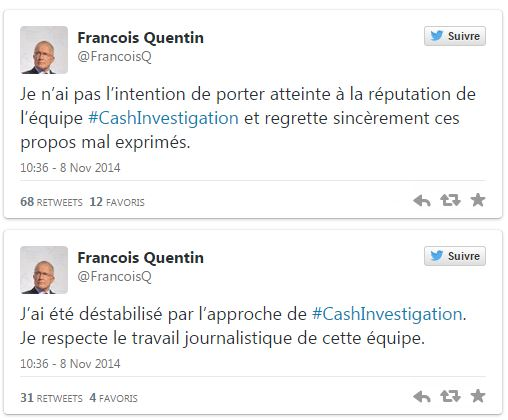 Huawei 2 - Tweets François Quentin
