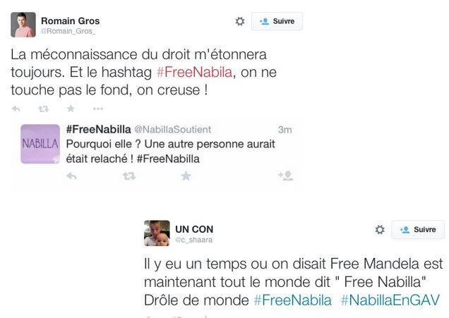 Nabilla - Tweets Free Nabilla