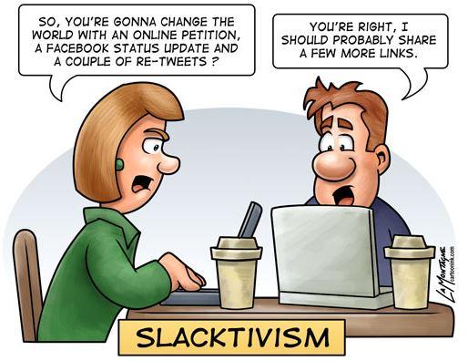 2015 - Slacktivism