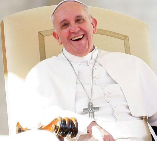 PF 2014 - pape souriant