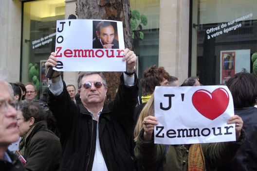 Zemmour - supporters