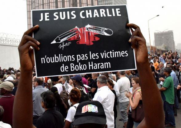 Nigeria - Baga Charlie panneau