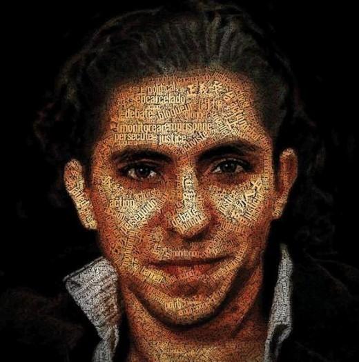 Raif Badawi - portrait