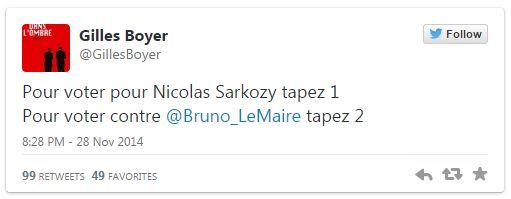 Boyer - Tweet votez