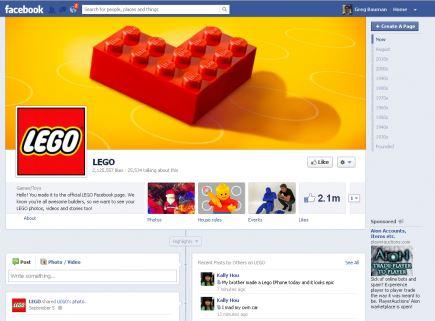 Lego 2 - Facebook