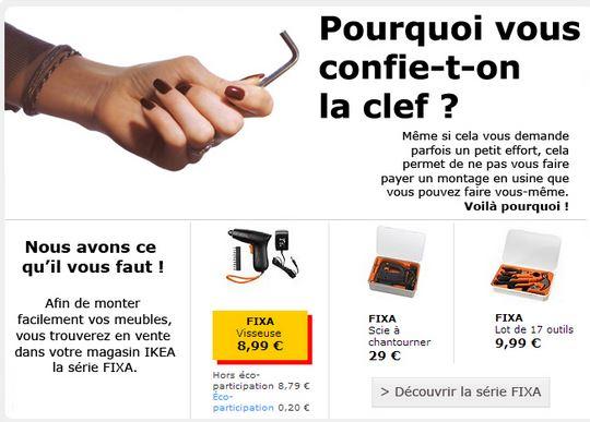 Ikea - notice