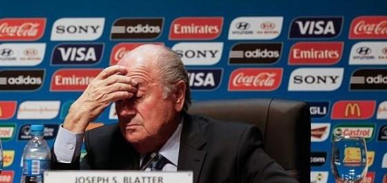 FIFA - Blatter prise de tête