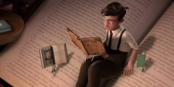 Storytelling 2 - bonhomme qui lit