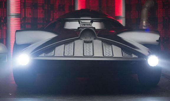Uber 3 - Darth Vader car