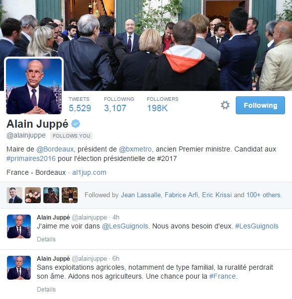 Tweet Alain Juppé