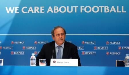 L'UEFA SOUTIENT LA CANDIDATURE DE MICHEL PLATINI POUR LA FIFA