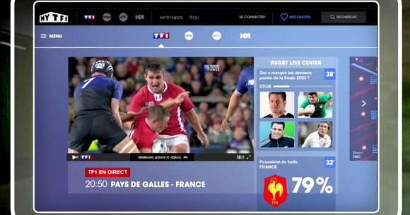 TF1 - Rugby Live Center