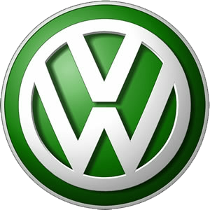 VW 3 - Green-Volkswagen-Logo