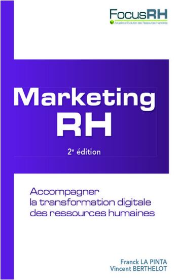 Marketing RH - couverture livre