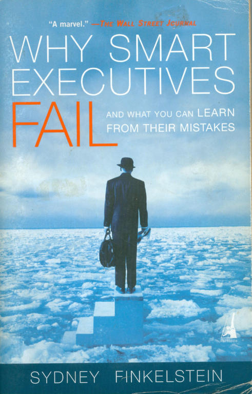 Confiance - Why-Smart-Executives-Fail-Books
