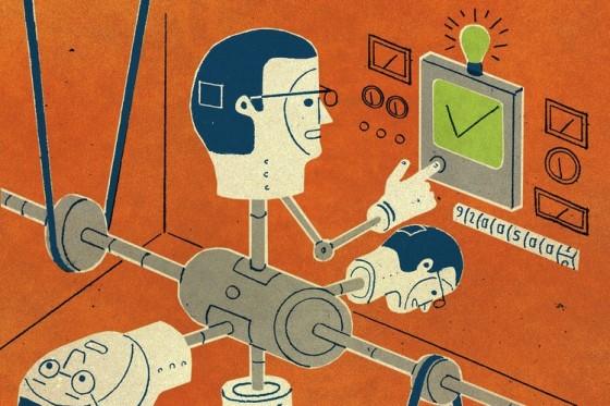 Napo 2 - Homme multitasking