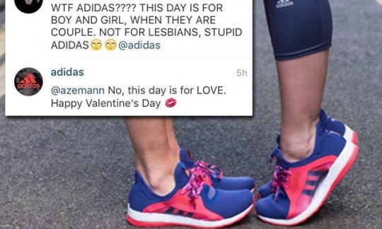 Brand Activism - Adidas Instagram