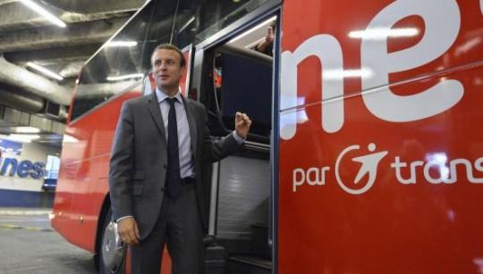 Zarader - Macron bus