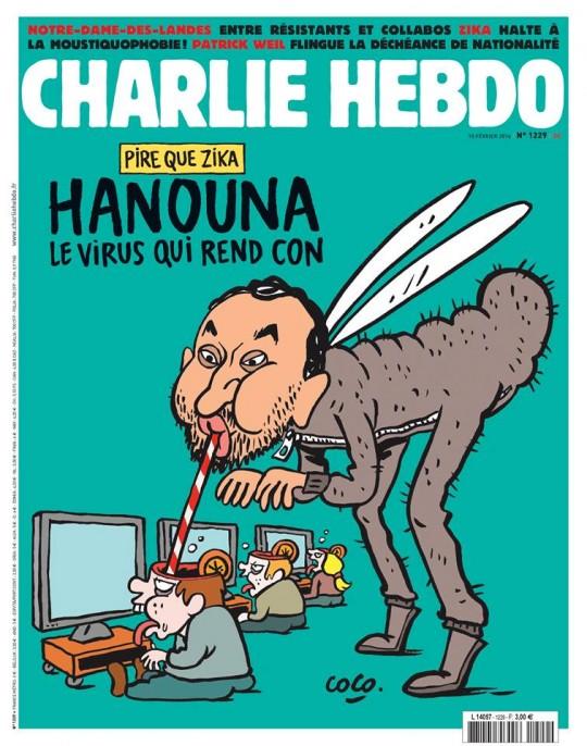 Hanouna - charlie-hebdo