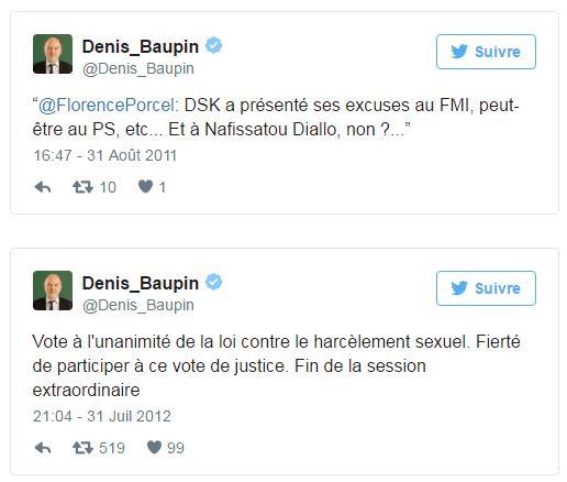 Baupin - anciens tweets