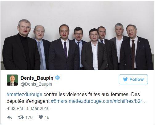 Beaupin - Tweet mettez du rouge