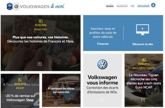 VW 4 - VW et moi site Web