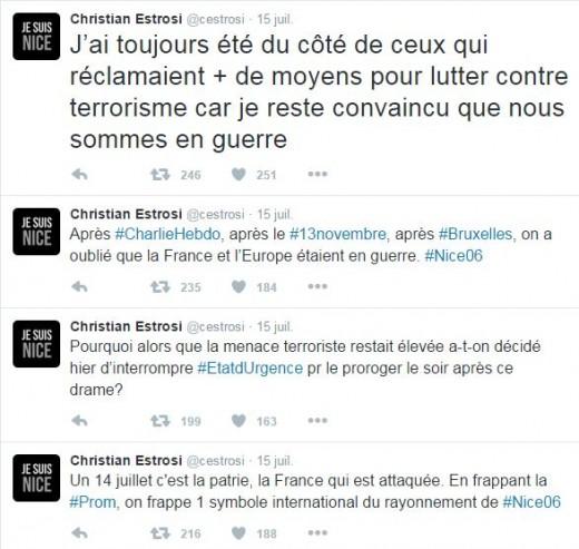 Nice - Estrosi Twitter