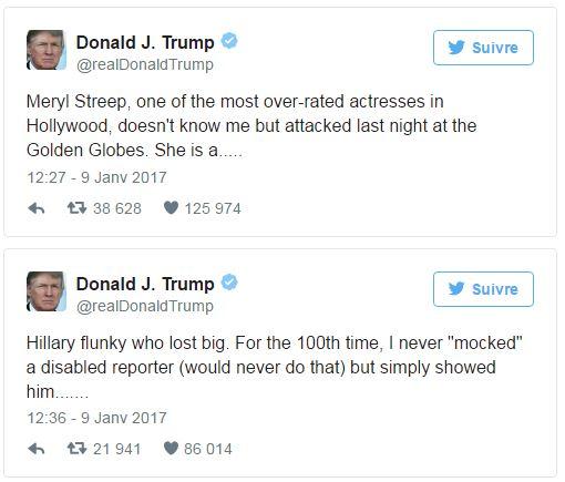 Trump - tweets