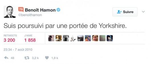 Empreinte digit - Benoit Hamon