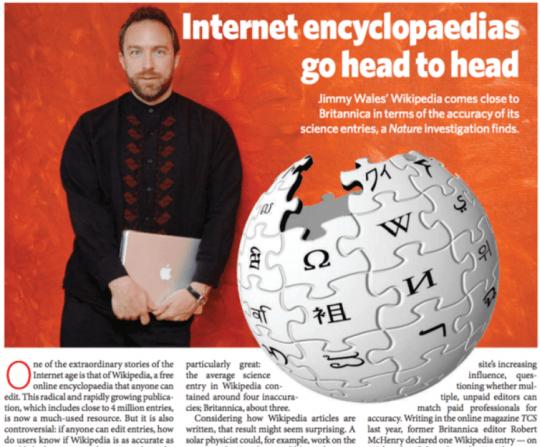 Wikipedia - Fiabilité encyclo
