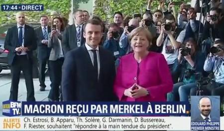 Macron 2 - Merkel
