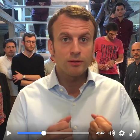 Macron 2 - Video