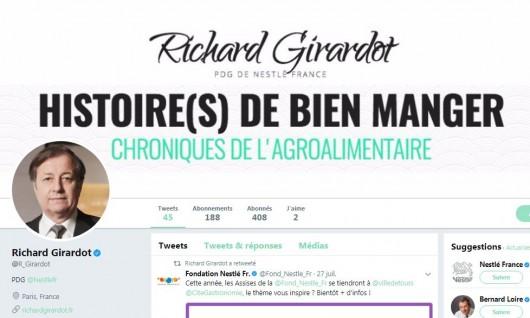CEO Digital presence - Richard Girard